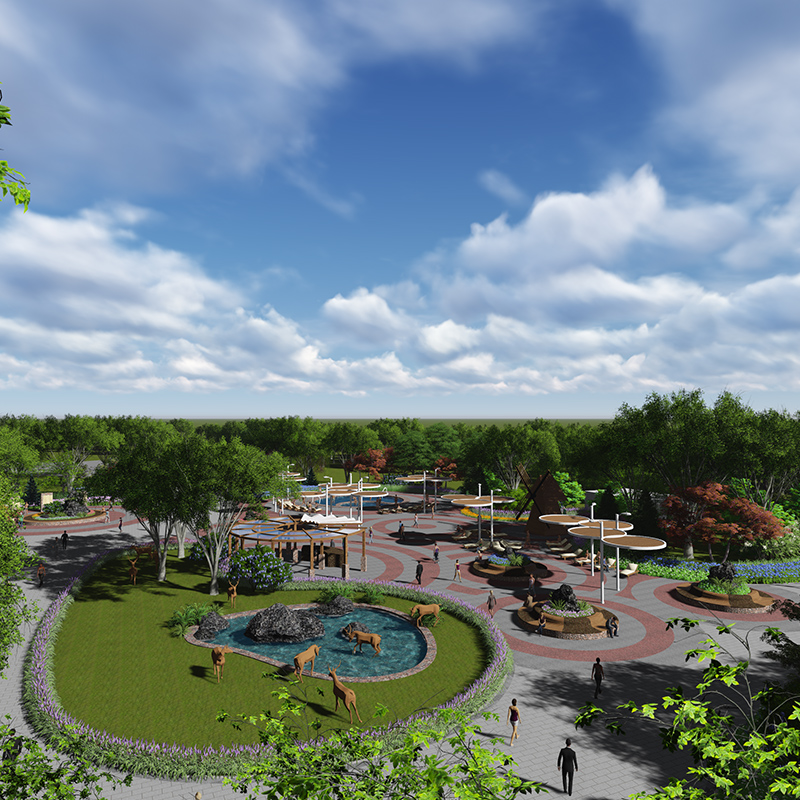 哈尔滨校园景观设计