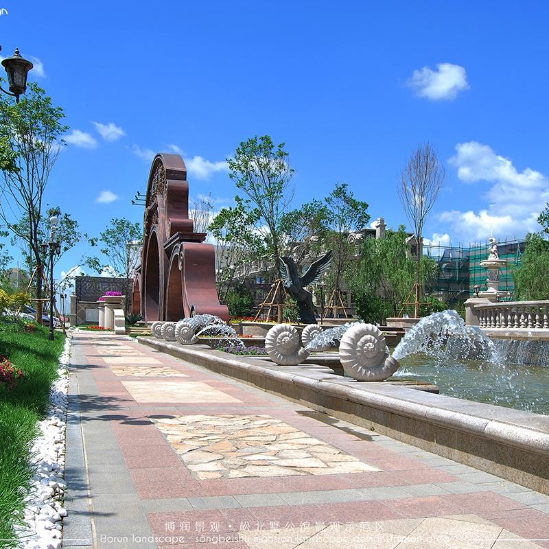 哈尔滨松北区--墅公馆示范区
